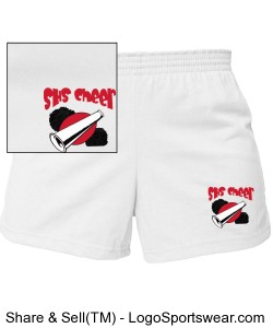 Cheer Shorts Design Zoom